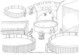 zoo cage clipart 14
