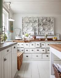 modern home kitchen ideas with white wooden kitchen cabinets and