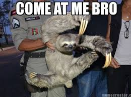 Sloth Jokes Meme - meme creator sloth fu says happy birthday d