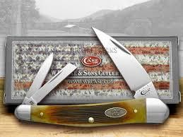 case xx antique sawcut bone seahorse whittler pocket knife knives