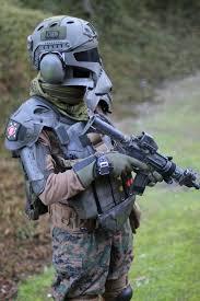 boba fett costume spirit halloween irl boba fett body armor made by h u0026k sog surefire and several