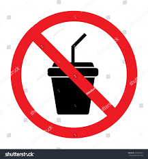 drink vector no drink vector sign stock vector 256652029 shutterstock