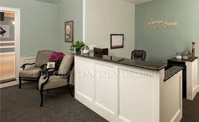 Build A Reception Desk Plans by This Reception Area In A Local Dance Studio Was Designed For