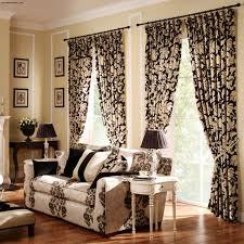 Curtain Color Ideas Living Room Elegant Living Room Curtains With Dark Brown Color Ideas Combine
