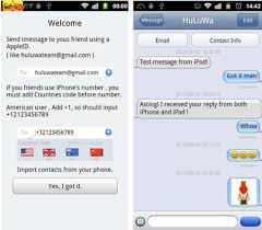 imessage chat apk unofficial android imessage app can info and