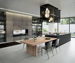 tisch küche küche mit kochinsel und tisch amocasio