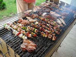 enjoy party with having barbecue backyard bbq grill in your