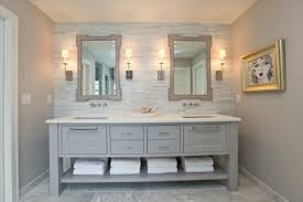 pleasant vintage style bathroom vanity in inspirational home