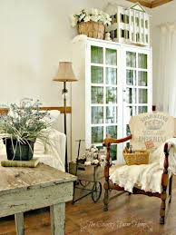 Farmhouse Sitting Room - farmhouse living room french farmhouse living room decorating