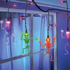 dangling skeleton lights walmart