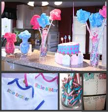 gender reveal party decorations momma maven pink blue baby party the gender reveal pics