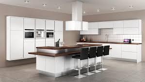 Modern Kitchen by Brown And White Kitchen Rigoro Us