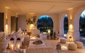 Villa Decoration by Seaside Villas With Private Pools In Puglia