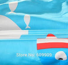 Girls Ocean Bedding by Aliexpress Com Buy Blue Shark Fish Ocean Theme Boys Girls Cute
