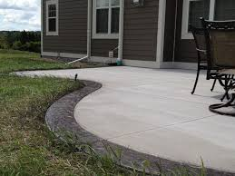 Stamped Concrete Backyard Ideas Beautiful Colors Stained Concrete Patio Design Ideas Landscaping