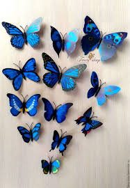 butterfly blue 12 pack shop on livemaster with shipping