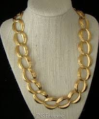 gold tone chain necklace images 57 napier gold chain necklace large gold chain necklace napier jpg