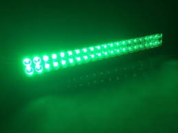 green light for hog hunting green white strobe dual color switched 22 120w led light bar for