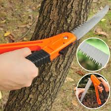 gardening pruning foldable saw household woodworking tree