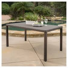 Outdoor Sofa Table by Wrought Iron Patio Furniture Target