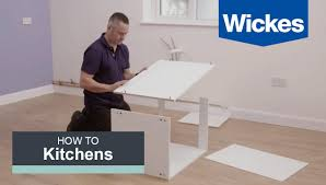 how to build a kitchen cabinet with wickes youtube