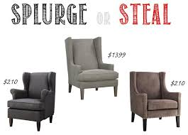 Crate Barrel Chairs Splurge Or Steal Target Vs Crate U0026 Barrel Brass And Whatnots