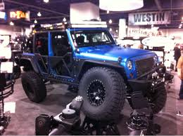 blue jeeps the jeeps just don u0027t stop sema 2013 photo u0026 image gallery