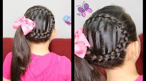 accented side ponytail cute girly hairstyles hairstyles for