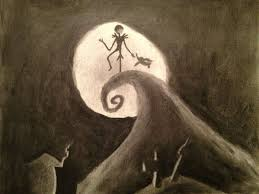 result of a tim burton power hour charcoal drawing imgur