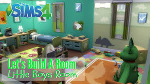 the sims 4 let s build a room little boys room youtube