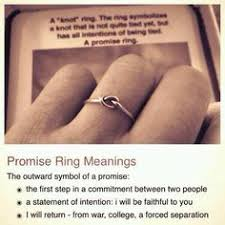 what does a knot ring a knot promise ring this is so i that it says what