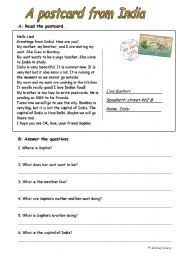 english teaching worksheets india