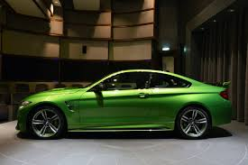 java green bmw тюнинг спорт купе bmw m4 coupe java green вид сбоку автосалон а