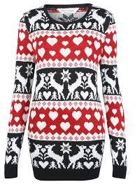 red reindeer christmas jumper clothing new in miss selfridge