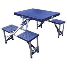 fold out picnic table buy tesco folding cing picnic table chairs from our cing