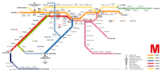 Red Line Metro Map by Caracas Metro Map Venezuela