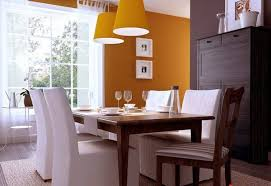 colori per sala da pranzo colore arancione per la sala da pranzo