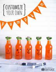 Make A Face Pumpkin Halloween Party Favors My Sister U0027s Suitcase