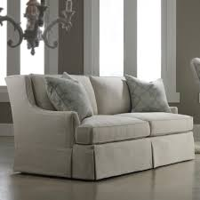 Two Sofa Living Room Sam Moore Blakely Contemporary Two Over Two Sofa With Waterfall