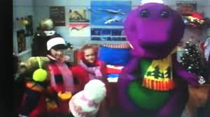 the barney shake up on the house top u0026 jingle bells youtube