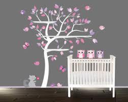 tree bookshelf decal set wall tree decal for shelf by lulukuku