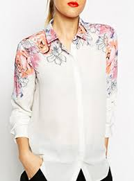 floral shirts for women cheap price