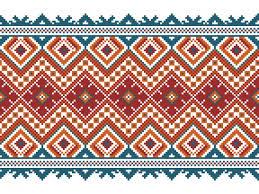 ukrainian ornaments vector illustration of ukrainian folk seamless pattern ornament