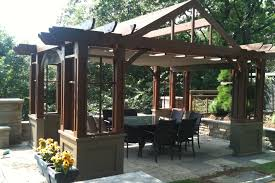 living room pergola brace designs wood home inspection backyard