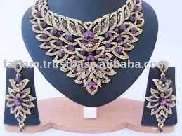 designer diamond sets indian designer american diamond jewellery set buy american
