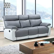 White Leather Sofa Recliner Leather Sofas Recliner Lenspay Me