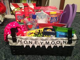 honeymoon gift basket always a blogsmaid comes then comes baskets