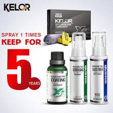 kelor paint car color repair covers glass coating car wax liquid