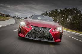 lexus paper sedan 2018 lexus lc 500 packs 471 hp goes on sale next may