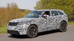 range rover velar inside svr tuned range rover velar v8 spied at the ring
